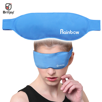 Rest Ice Eye Shade cooler bag Sleeping Mask Cover ice pack eye patch Cold Hot Relaxing Soothing eyes care Gel Mask health care efero collagen eye mask gel eye patches face care sheet masks wrinkle eyes bags remover dark circles for face mask eye mask 60pc
