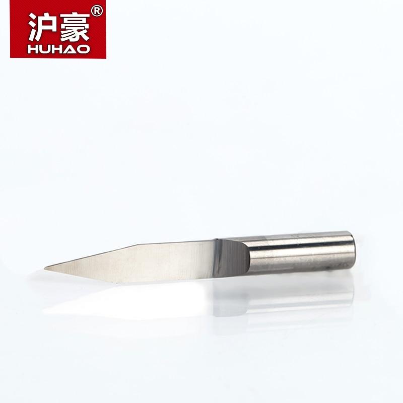 HUHAO 1pc 6mm punte per incisione a fondo piatto 45-50mm allungati - Macchine utensili e accessori - Fotografia 2