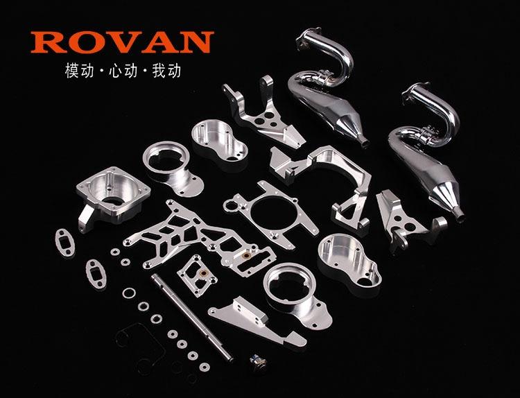 CNC 2 cylinder mount kit for 60cc two cylinder engine 85221 for hpi baja 5b k650 cylinder kit 50mm for partner