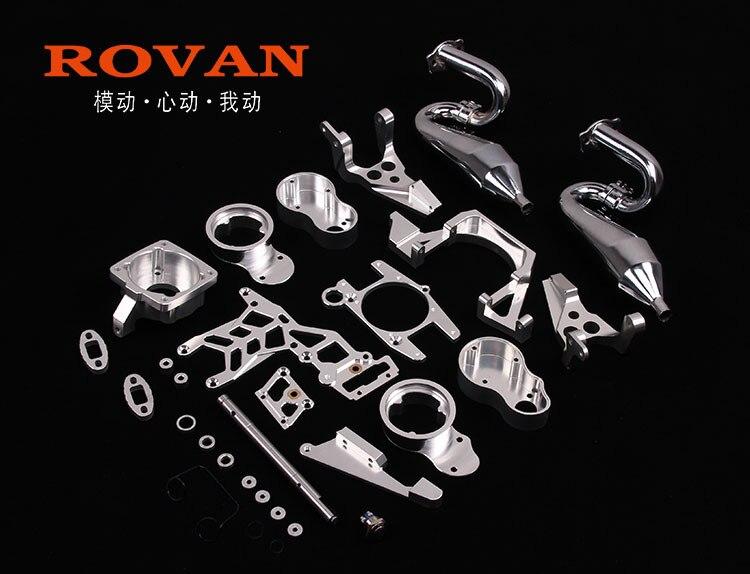 Kit de montage de 2 cylindres de CNC pour moteur deux cylindres 60cc 85221 pour hpi baja 5b