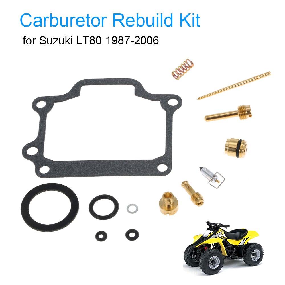 Carburetor repair kit carb rebuild kit for suzuki lt80 1987 2006 china