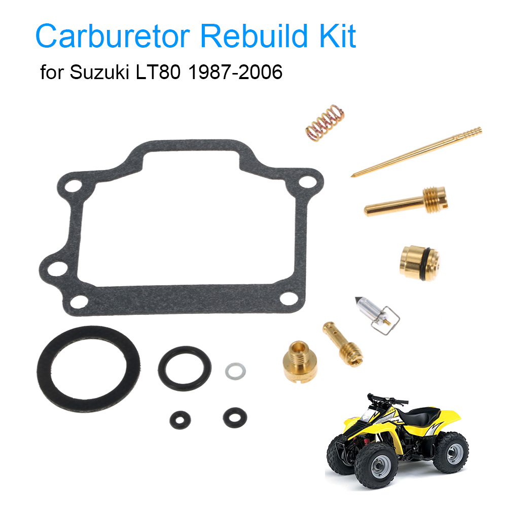 Carburetor repair kit carb rebuild kit for suzuki lt80 1987 2006 china