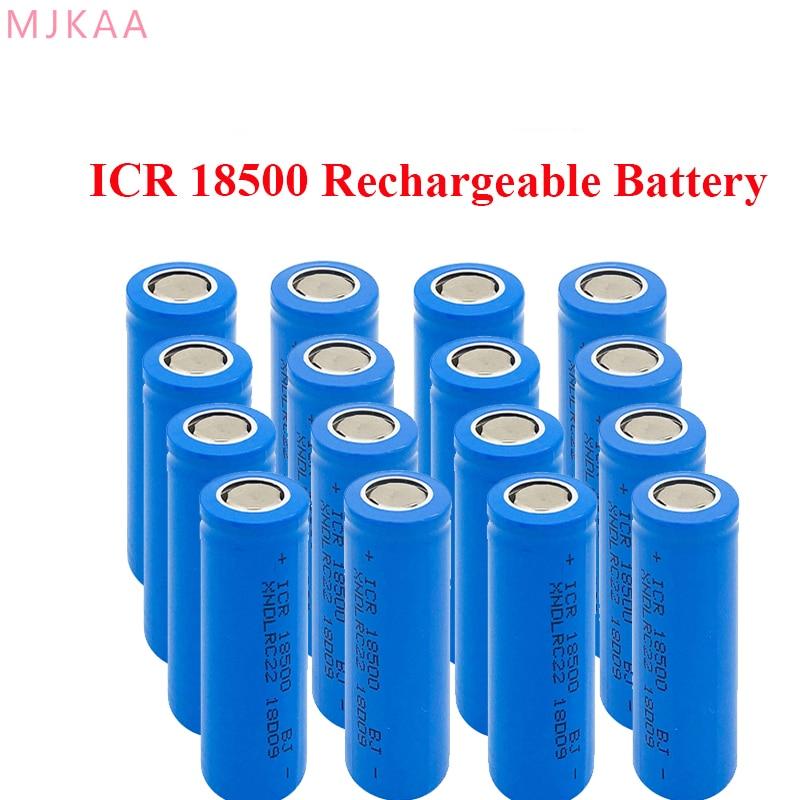 2019 8-20pcs 18500 XNDLRC22 3.7V 1400mAh Rechargeable Battery