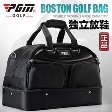 PGM Golf Clothing bag Men's Double Shoes Bag Large Capacity Bag A4742