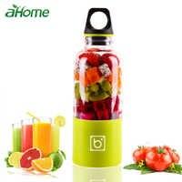 USB Portable Water Bottle Juicer 550ml Portable Electric Juicer Cup Fruit Juicer Blender Juice Smoothie Maker