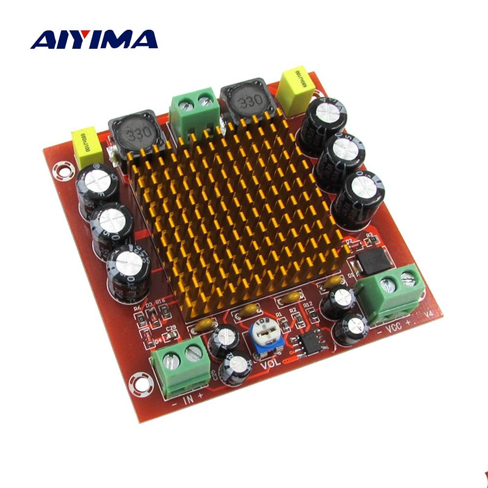 Aiyima 150W TPA3116D2 digitális hangerősítő tábla monoerősítők DC12-26V DIY hangrendszer hangszóró házimozi