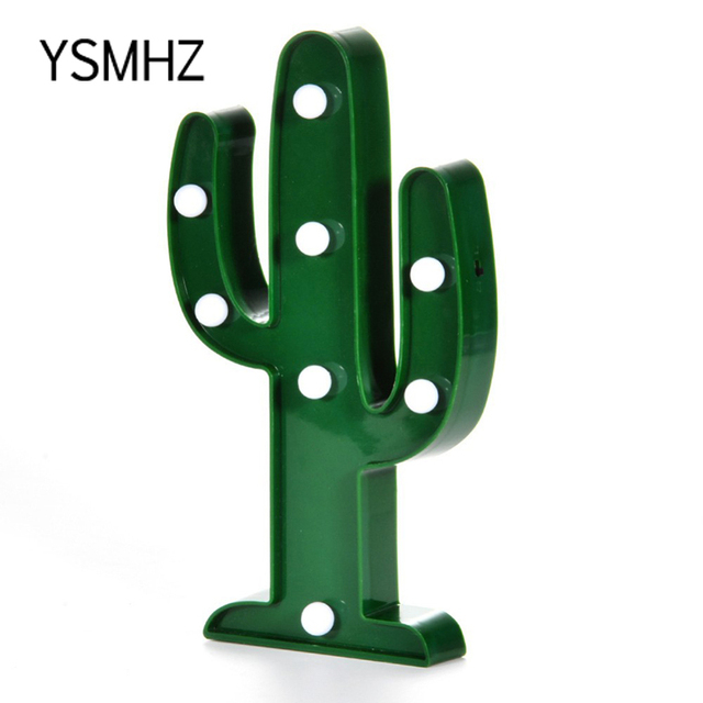 ysmhz led night light cactus lamp romantic nightlight children bedroom christmas decorations lamp toggle type night - Cactus Christmas Decorations