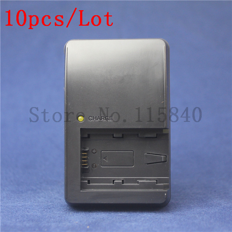 10pcs lot BC VH1 VH1 US type plug Battery Charger for SONY NP FH50 NP FH60