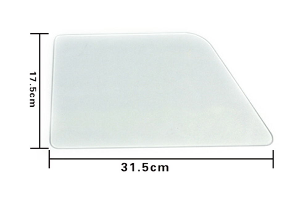 Image 5 - 31.5*17.5cm Auto Rear Left Door Window Glass Pane Panel display Model For Window Tint Demo MO B2-in Car Stickers from Automobiles & Motorcycles