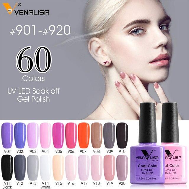 Canni Żel Polski Nowy Marka 100% Soak Off UV żelowy lakier do paznokci LED 60 Piękno kolorowy żelowy lakier do paznokci Nail Art Design Nude Kolory Żel