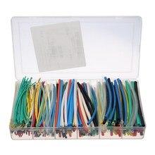 New 315pcs 6Sizes Multi Color Heat Shrink Tubing Tube Assortment Wrap Cable Assortment Sleeving Wrap Tubes Kit Insulation