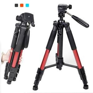 Image 4 - ZOMEI Q111 Professional Portable Travel Aluminum Camera Tripod&Pan Head for SLR DSLR Digital Camera Three color
