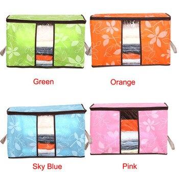 Storage Organization Bag for Clothes Blanket Quilt Home Organizers Storage Bag 1