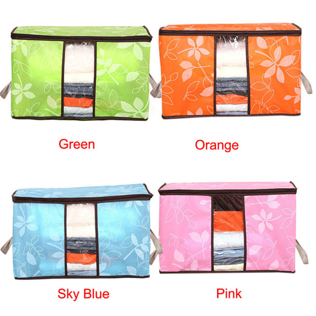 Storage Organization Bag for Clothes Blanket Quilt Home Organizers Storage Bag 1