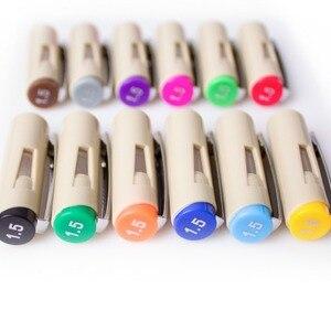 Image 4 - 12Pcs Precision Ink  Pens, Pigma Micron Fine Line Fine Pen , liner, Multiliner, Artist Illustration,Sketching, Technical Drawing