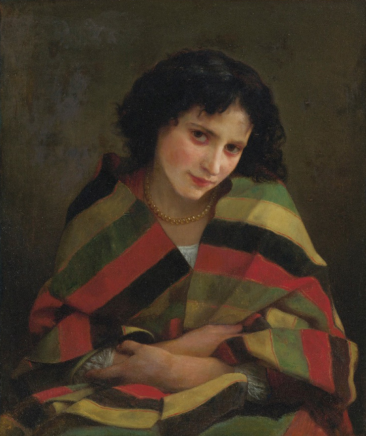 Handmade Oil painting reproduction Frileuse by William Bouguereau
