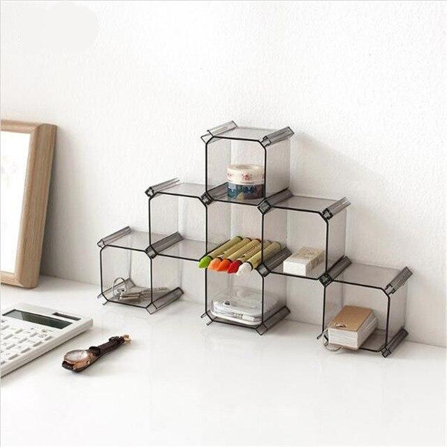 6 Pcs Set Multifungsi Diy Kotak Sarang Lebah Laci Kisi Pemegang
