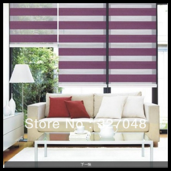 Aliexpress.com : Buy cheap window blinds purple curtains and brown ...