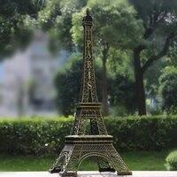 70cm Height Restore Bronze Paris Eiffel Tower Statue Home Decoration Favors Big Metal Figurines