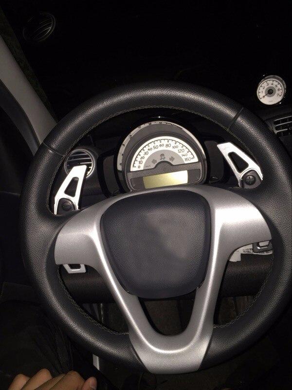 ₪Ди алюминиевый сплав Руль DSG весла для Mercedes-Benz Smart весло ... f4c24e2d20a