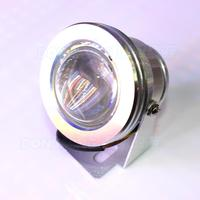 Underwater Pool Lights Waterproof 12V Silver Shell Convex Lens AC85 265V Led Underwater Light High Quality