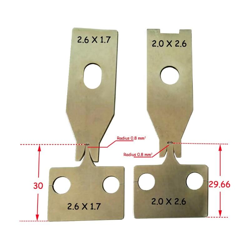 wire cutting machine blade + mute terminal machine blade&blade for crimping machine цена