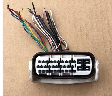 1 STKS VOOR ABS pomp plug Anti-lock pomp harnas connector GEBRUIKT