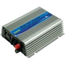 MPPT 600 Вт микро сетка галстук Инвертор 30 в 36 в панель 72 ячейки функция чистая синусоида на сетке галстук инвертор 600 Вт 22-60 в DC