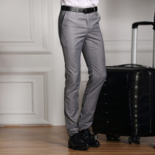 Men's formal dress pants/men's fashion cultivate one's morality leisure business suit pants/premium brand wedding suit pants