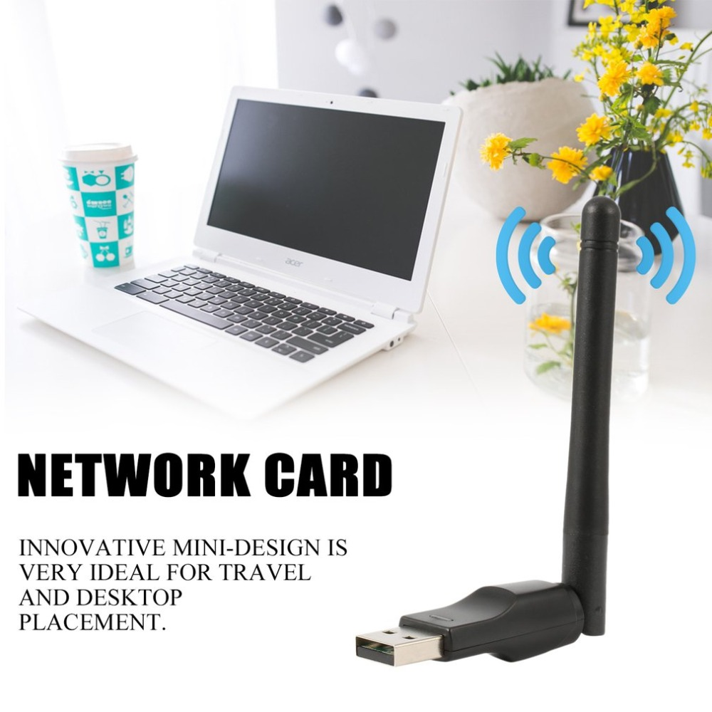 Network-Card Antenna Wifi-Adapter Usb-Wifi-Receiver 150-Mbps Wirelesswifi 20dbm High-Speed