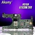 U31SD GT520M 2 Гб N12P-GV-B-A1 Материнская плата Asus U31S U31SD U31SG материнская плата для ноутбука 60-N4LMB2000-C01 100% протестированная Бесплатная доставка