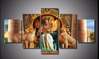 5pcs Full Diamond Embroidery 5D Diamond Painting Queen Of Egypt Picture Image Stitch Cross Diamond Mosaic