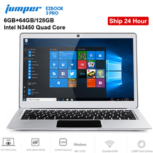Original Jumper EZBOOK 3 PRO 13.3 inch Notebook Windows 10 Intel Apollo Lake N3450 6GB RAM