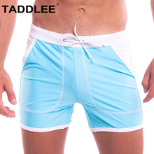 Taddlee Brand Sexy Men Swimwear Swimsuits Swim Boxer Trunks Board Surfing Briefs Gay