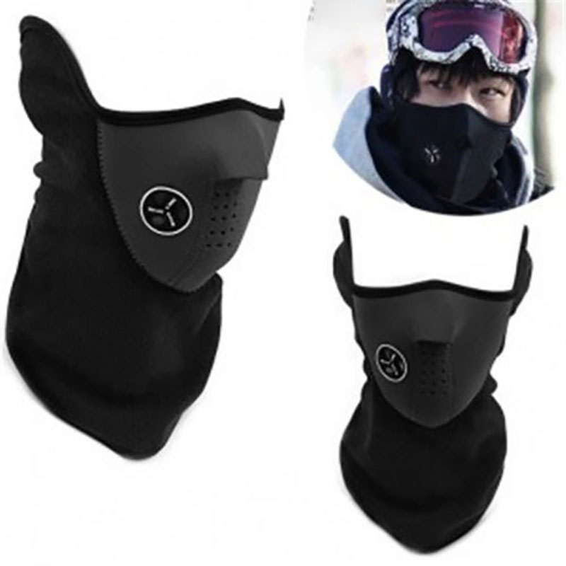 Portable Motorcycle Headscarf Riding Mask 3 Colors Polyester Practical Durable Scarf Windbreak Skiing Warmth Climbing