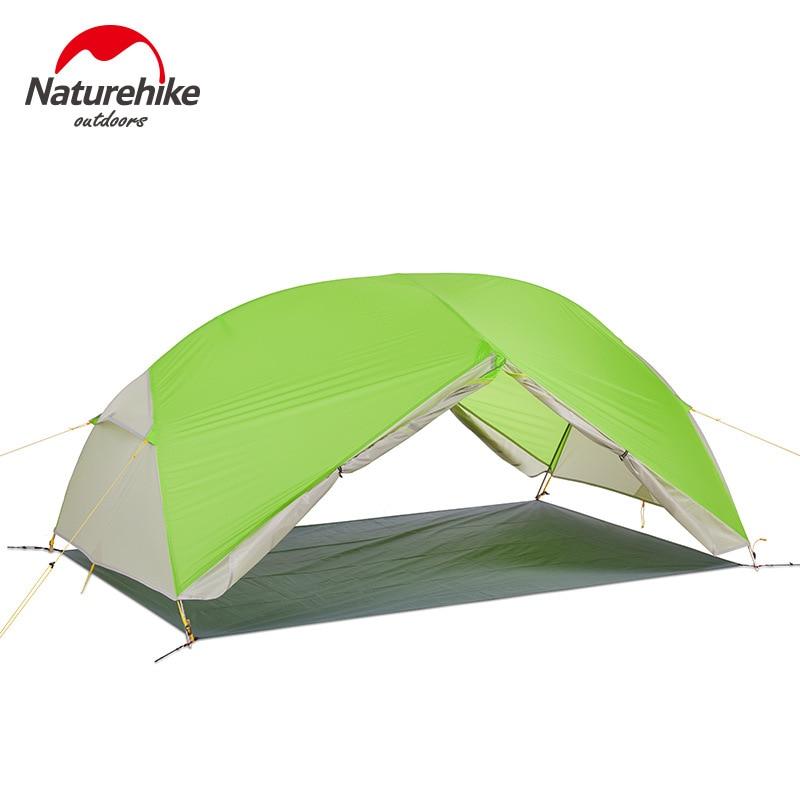 DHL livraison gratuite nature randonnée Mongar 2 Camping tente Double couches étanche ultra-léger dôme tente pour 2 personnes - 2