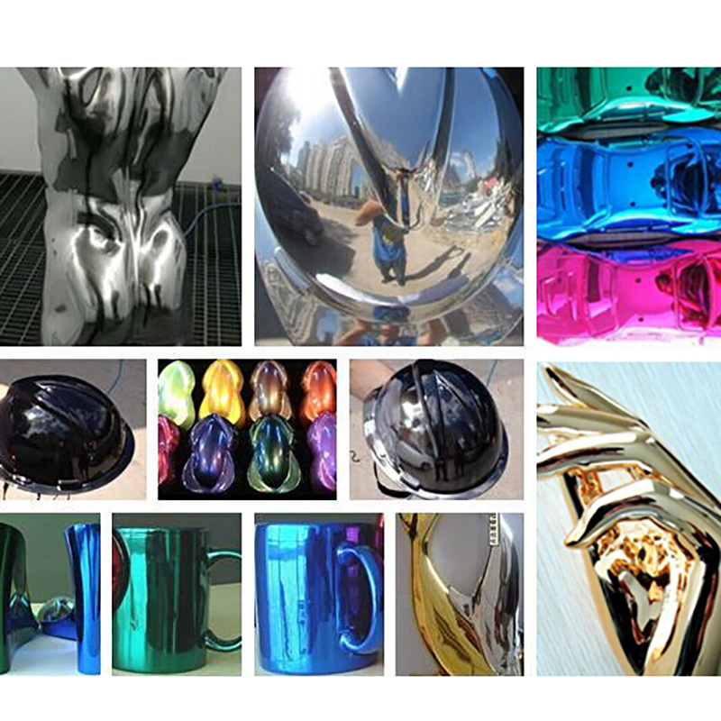 SAT0155 professional high quality chrome paint mirror chrome paint chrome car paint chrome spray paint gun chemicals tools