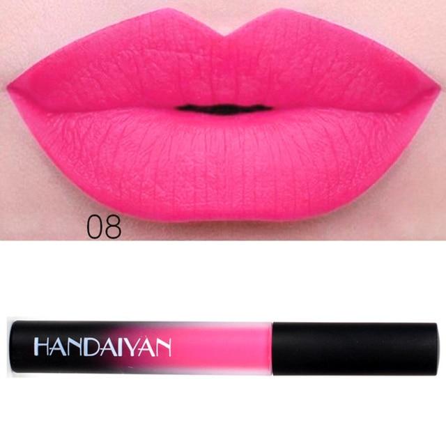 Sexy pink lipstick