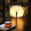 USB Aufladbare LED Faltbare Holz Buch Form Schreibtisch Lampe Nachtlicht Klemmleuchte für Home Decor Warme Weiß Licht Drop Verschiffen-in Handwerkzeug-Sets aus Werkzeug bei