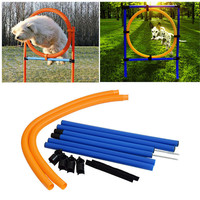 2017 Puppy Outdoor Exercise Training Supplies Pet Sports Equipment Training Toys Dogs High Jump Outdoor Jumping Through a Circle