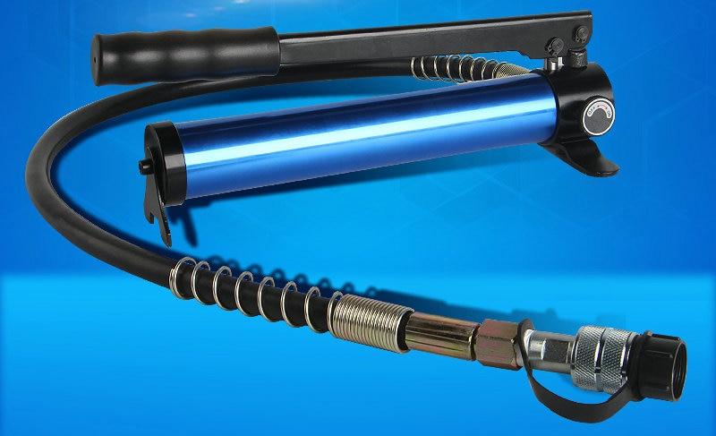 70Mpa CP-180A petite pompe hydraulique manuelle en aluminium pompe manuelle hydraulique ultra-mince pour outils hydrauliques fendus, équipement hydraulique