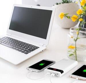 Image 5 - ROMOSS Senso 6P 20000mAh Batteria Esterna Portatile di Accumulatori e caricabatterie di riserva con Display A LED Dual USB Fast Charger per iPhoneX Samsung s8 iosx