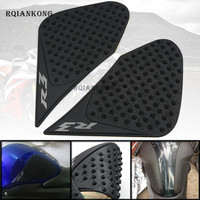 For Yamaha YZFR3 YZFR25 2015 2016 YZF R3 R25 Motorcycle Anti Slip Oil Fuel Tank Traction Pad Protector Knee Side Decal Sticker