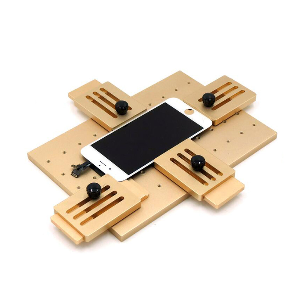 Aluminium Alloy Universal Phone LCD OCA Laminate Fixed Mold Replace LCD UV Glue Mold Mould Glass Holder For IPhone Samsung free shipping precise universal lcd screen position golden fixed mould for iphone samsung sony huawei xiaomi fixture base
