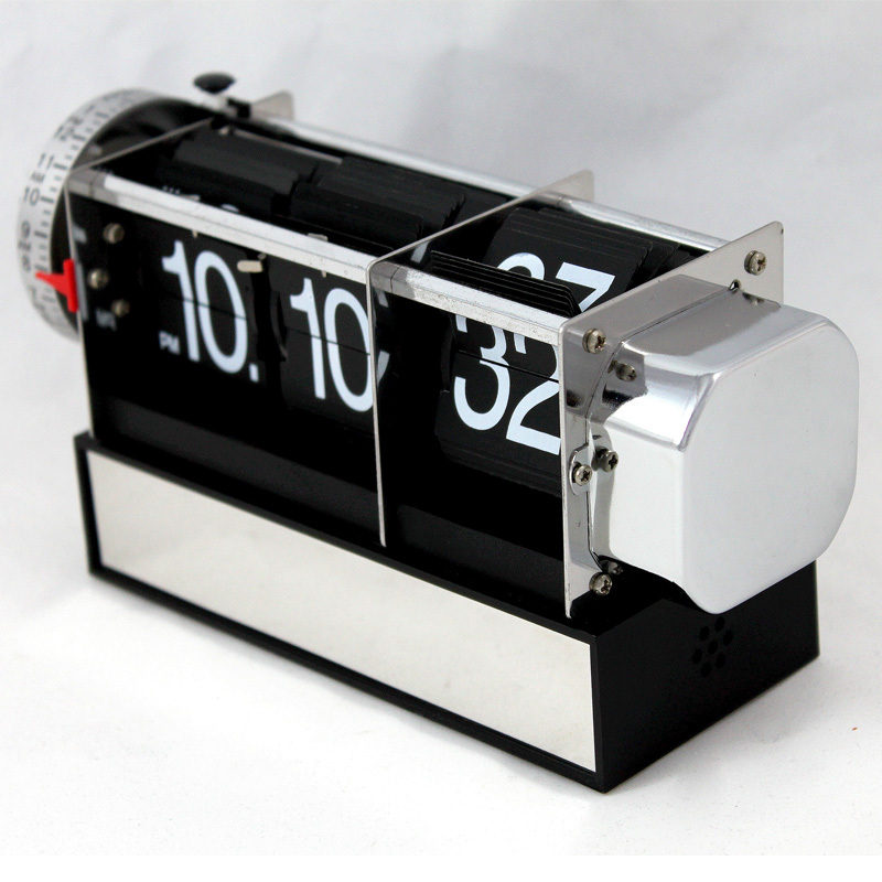 online shop mktime auto flip alarm clock hot sale cool desk clocks original design clocks aliexpress mobile