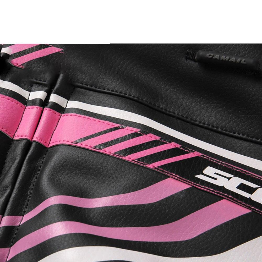 SCOYCO veste de Moto femme été cuir Chaqueta Moto vestes imperméable cross-country équitation Moto vêtements - 4