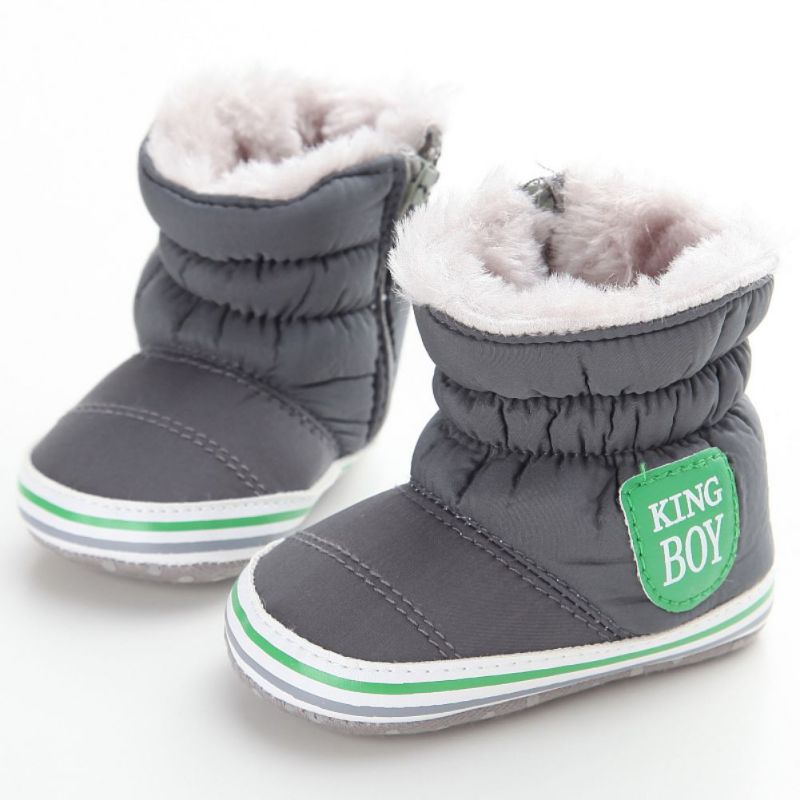 eccbb11b9 Boots Newborn Sneakers Baby Boy Snow Boots Warm Plush Winter Navy ...