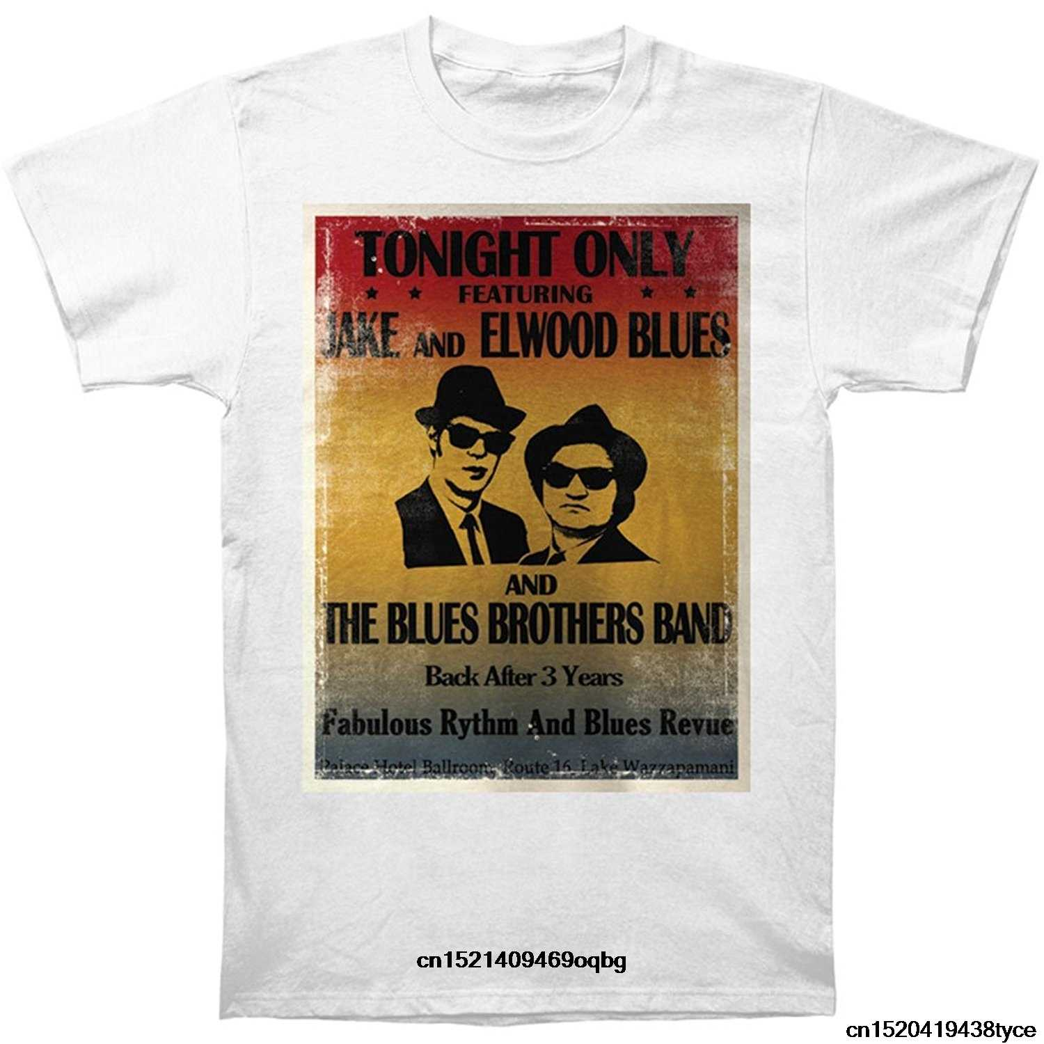 d46c8bfeed97 Brand 2018 New T Shirt Man Cotton Blues Brothers Movie Tonight Only Adult T- Shirt