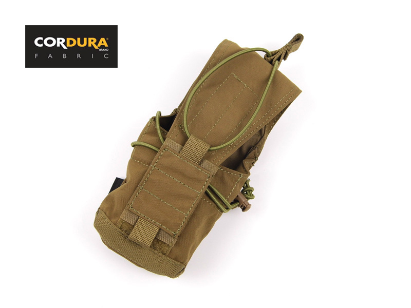 Cordura 5.56/7.62/MBITR Pouch Coyote Brown Smart Pouch Suite Military MOLLE Pouches+Free shipping(XTC050389)
