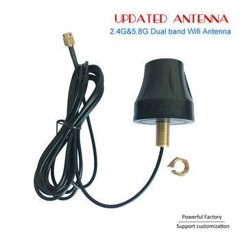 Factory Price External Omni directional Daul band wifi 2.4 5.8 antenna with Screw mounted 1pcs